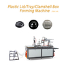 Hot Automatic Plastic PS/PVC/Pet Cup Lid/Cover Egg Tray Food Containers Bowl Plate Dish Thermoforming Forming Making Machine