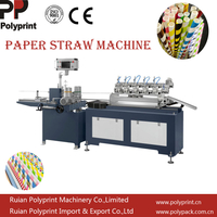 Disposable Paper Straw Making Machine Automatic Multi Cutter Paper Tube Pipet Making Machine