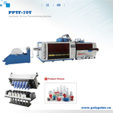 Automatic Plastic Food Container Cup Tilt Mould Thermoforming Forming Making Machine