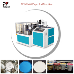 Drink Cup Food Bowl Paper Container Lid Making Machine