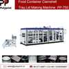 Automatic Plastic Lid Dish Thermoforming Making Machine for PP PS BOPS Materials