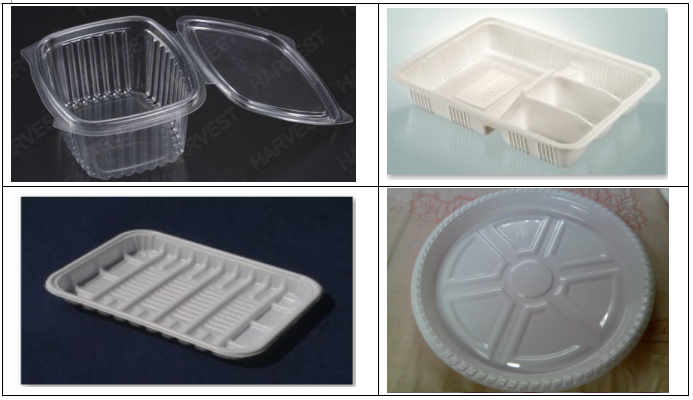 Advanced Plastic Food Container Clamshell Box Yogurt Cup Lid Making Machine