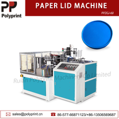 Automatic Paper Lid Forming Machine