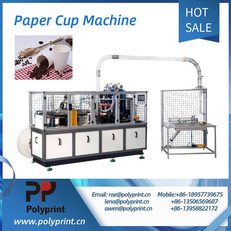 Coffee Milk Tea Paper Cup Making Machine